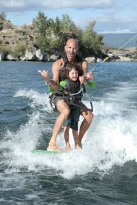 surfing in vernon